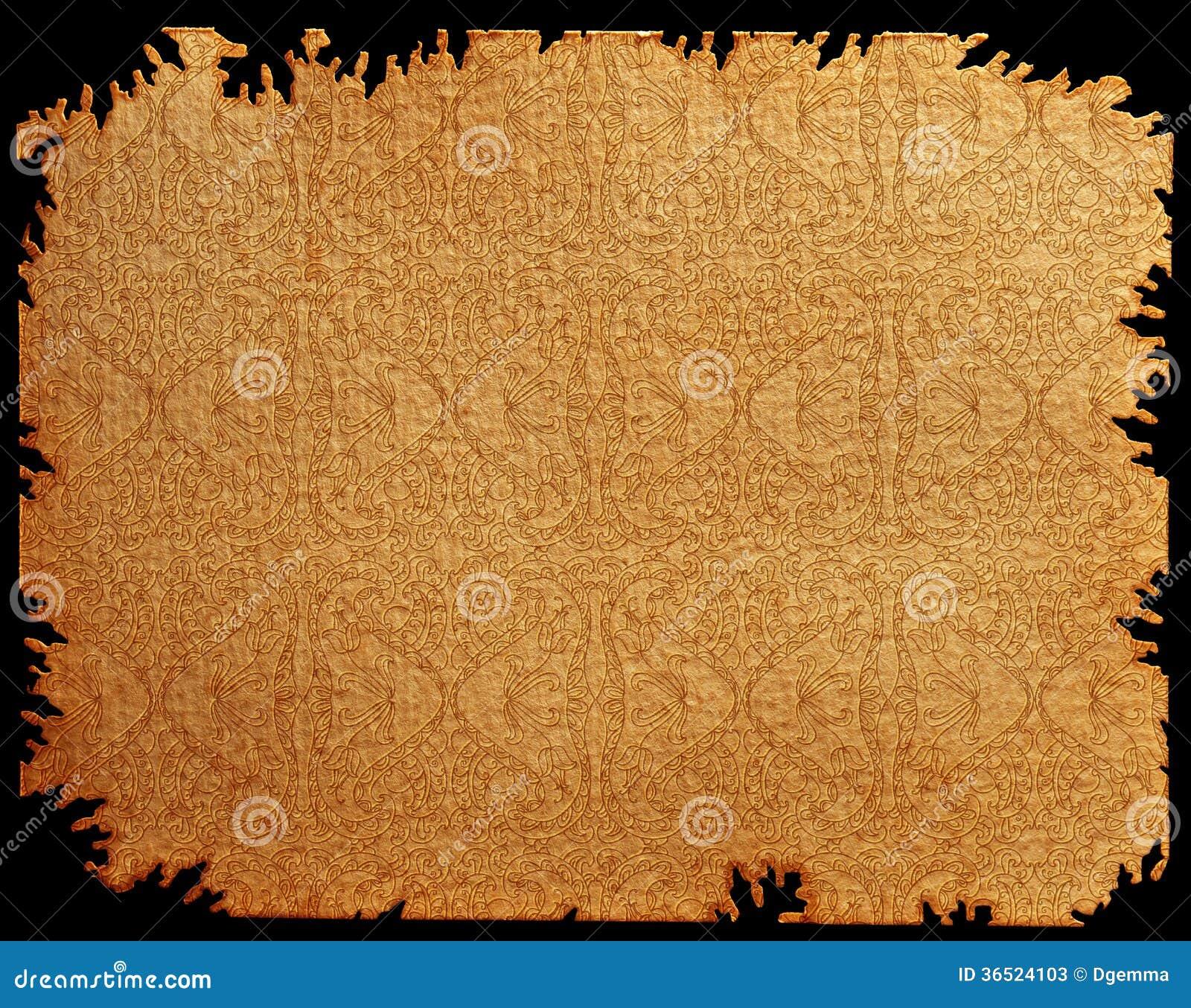 Texture de vieux papier