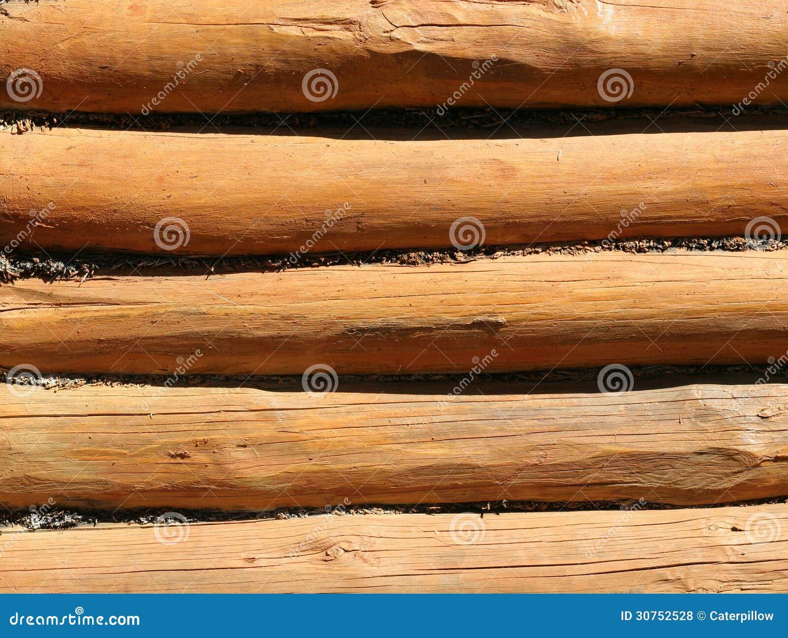 texture de vieux rondins en bois photos libres de droits image 30752528. Black Bedroom Furniture Sets. Home Design Ideas