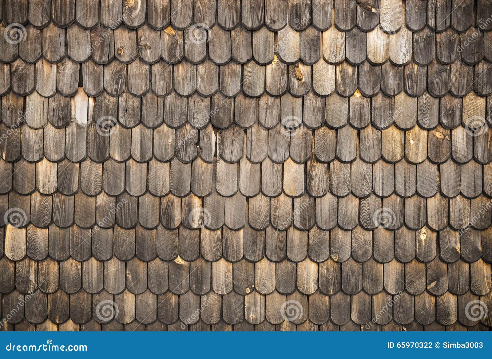 Texture en bois de bardeaux