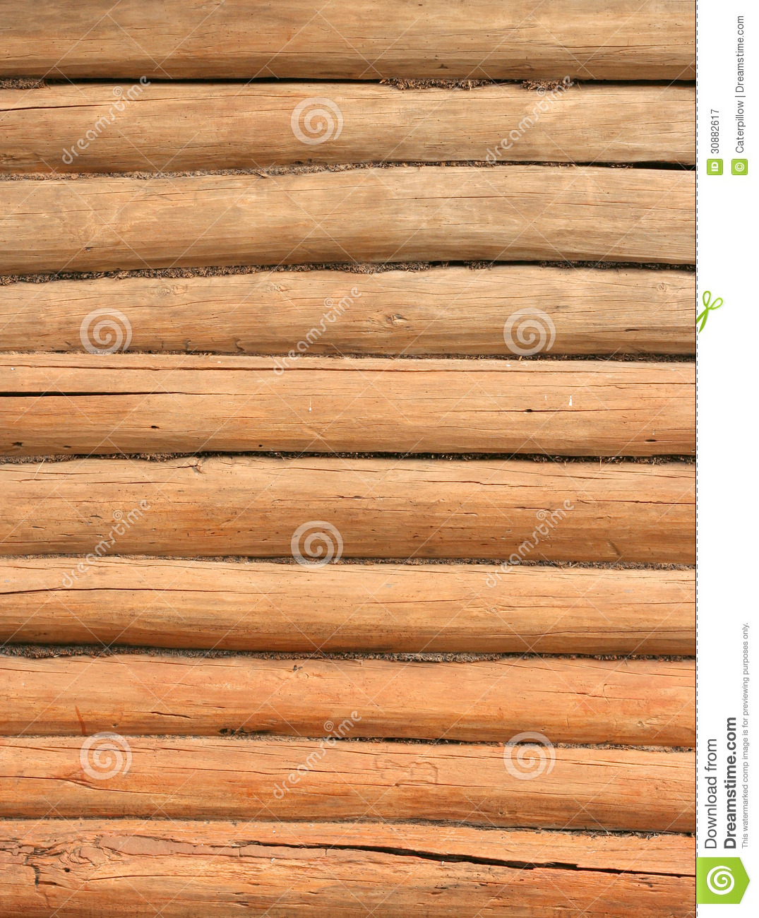 texture en bois de mur de rondin verticale image stock image 30882617. Black Bedroom Furniture Sets. Home Design Ideas