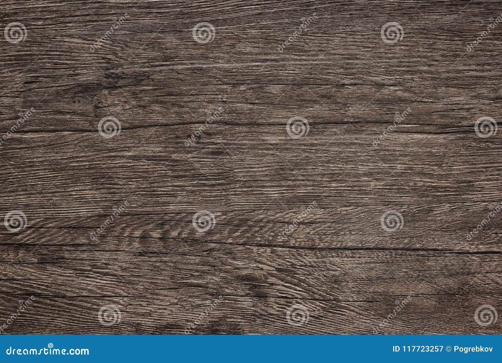 Texture en bois de table - fond en bois de brun foncé