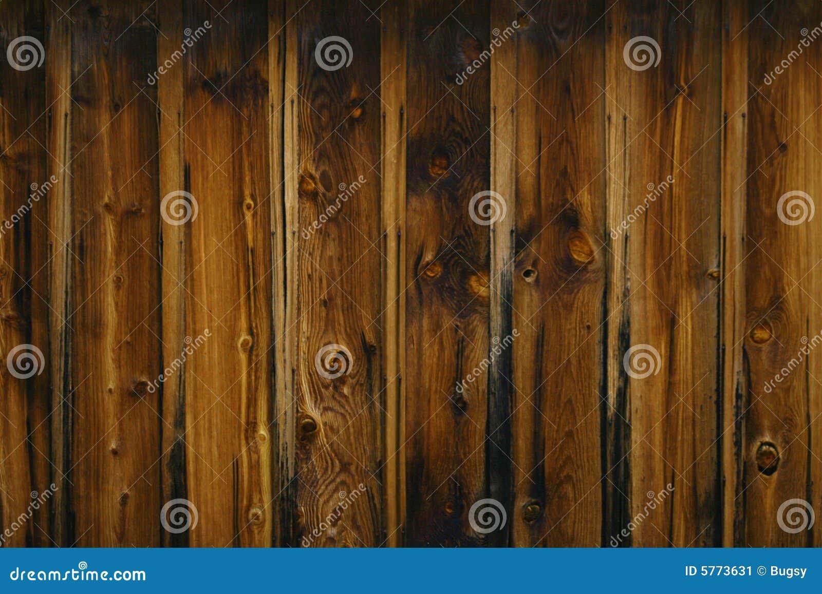 Texture en bois foncée