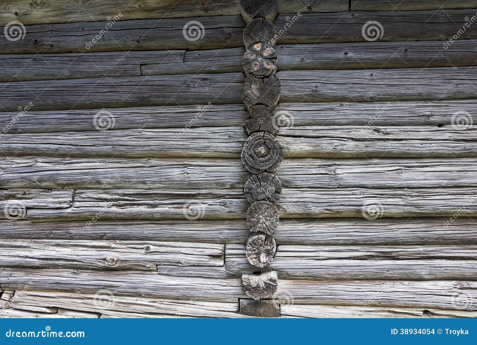 Texture En Bois Mur De Vieille Cabane En Rondins Photo stock  Image  ~ Cabane En Rondin De Bois