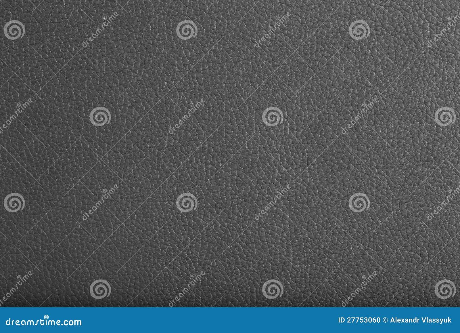 Texture en cuir noire