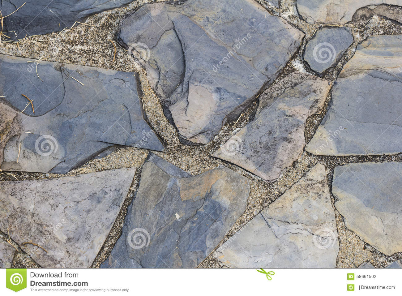 Texture en pierre de plancher d 39 ardoise photo stock image 58661502 for Pierre d ardoise
