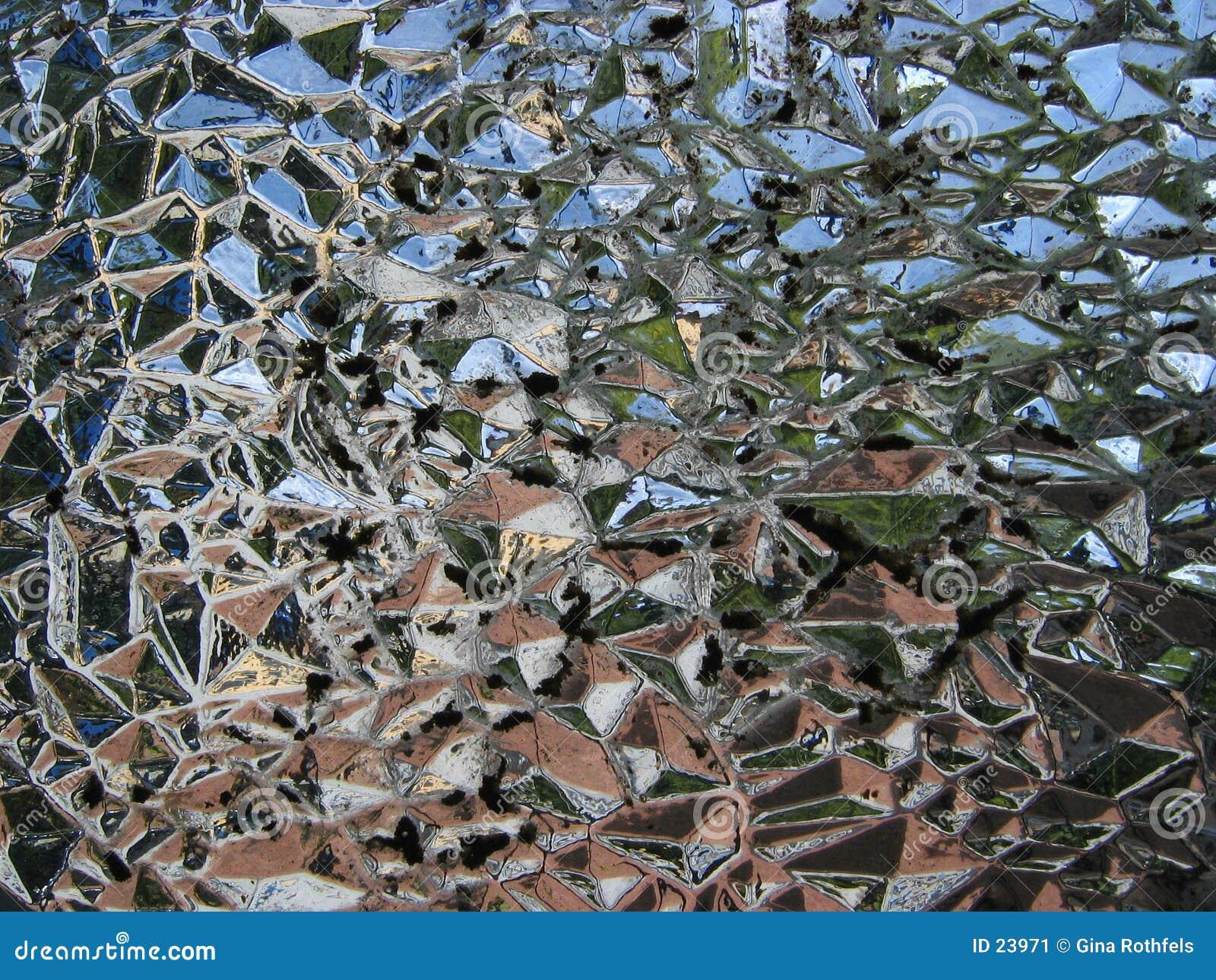 Texture en verre