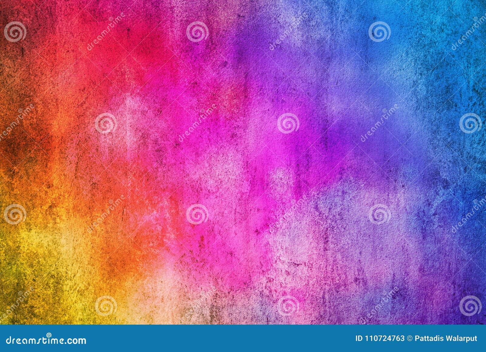 Texture et fond colorés abstraits de mur de ciment