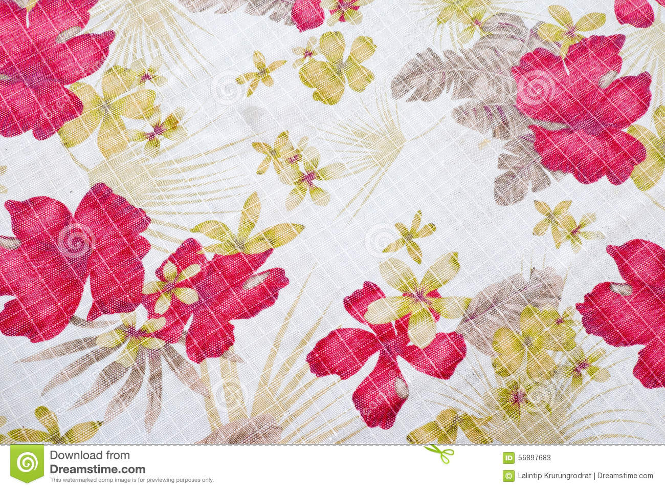 Fabric Flower Pattern Best Decoration