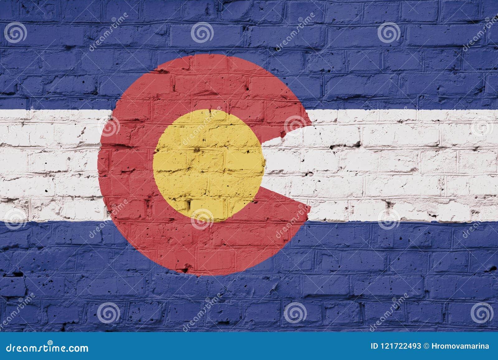 Flag of Colorado texture