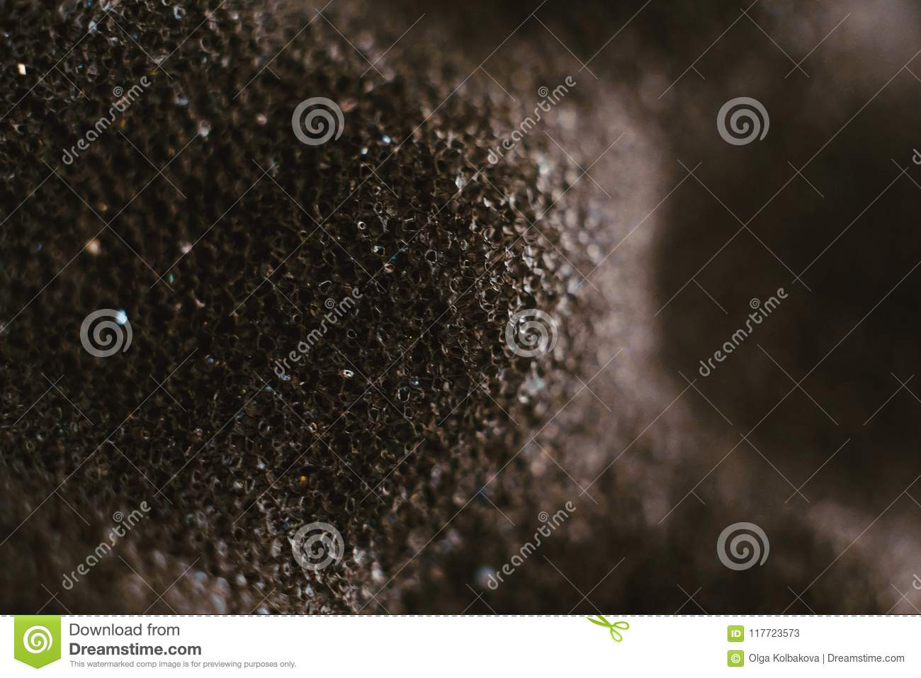The texture of the foam stock image. Image of chemistry - 117723573