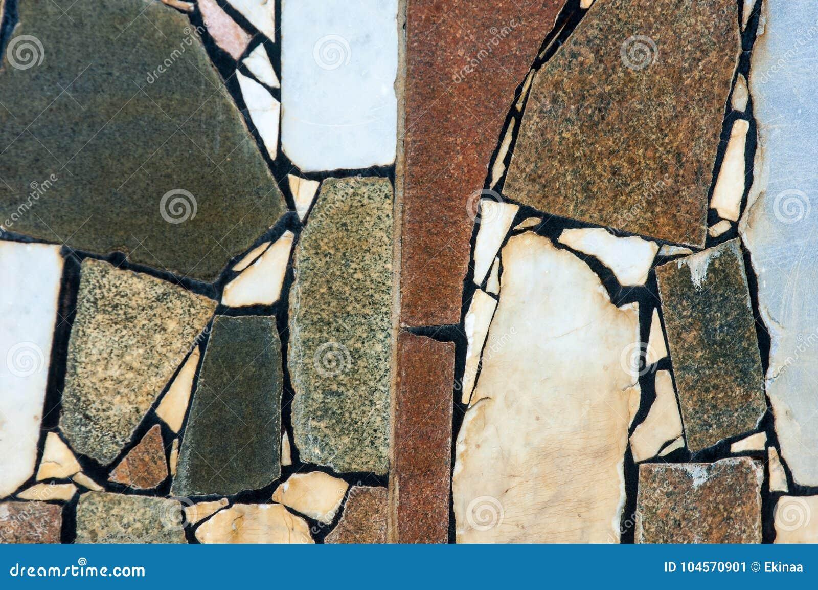 Texture, fond, modèle Doublure de la vieille piscine Granit SL