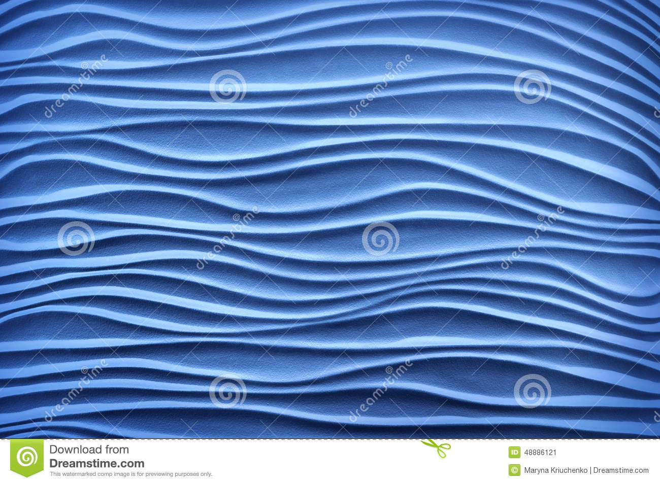 Form And Texture : Texture in form of ultramarine sand dunes royalty free