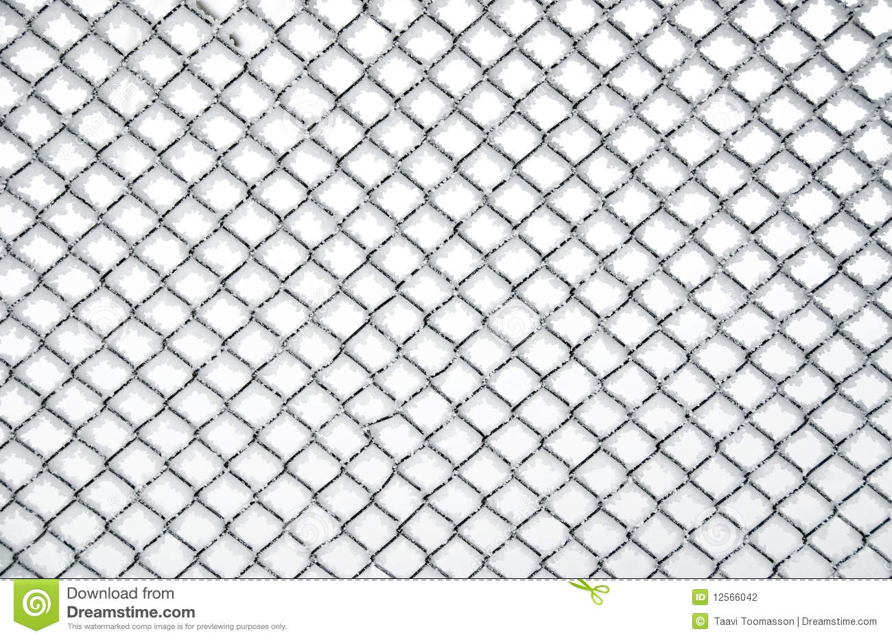 Texture Of Froz... Chainlink