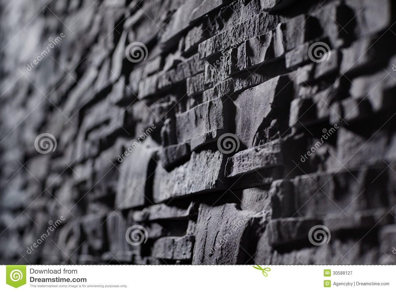 Texture of gray stonewall