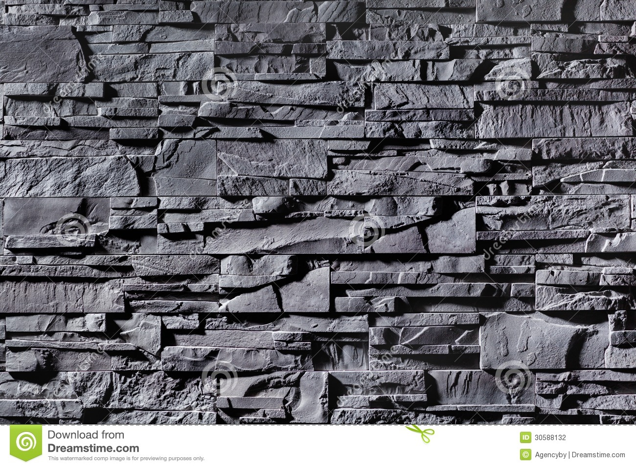 Texture Of Grey Stonewall Stock Photo Image Of Nobody