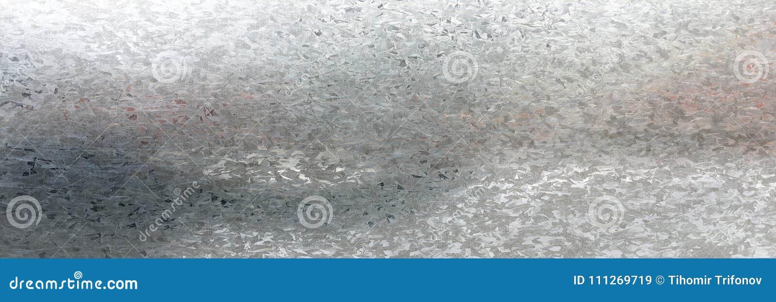 Texture grunge galvanisée par zinc en métal Vieux fond en acier galvanisé de texture en métal Plan rapproché d un texte gris galv