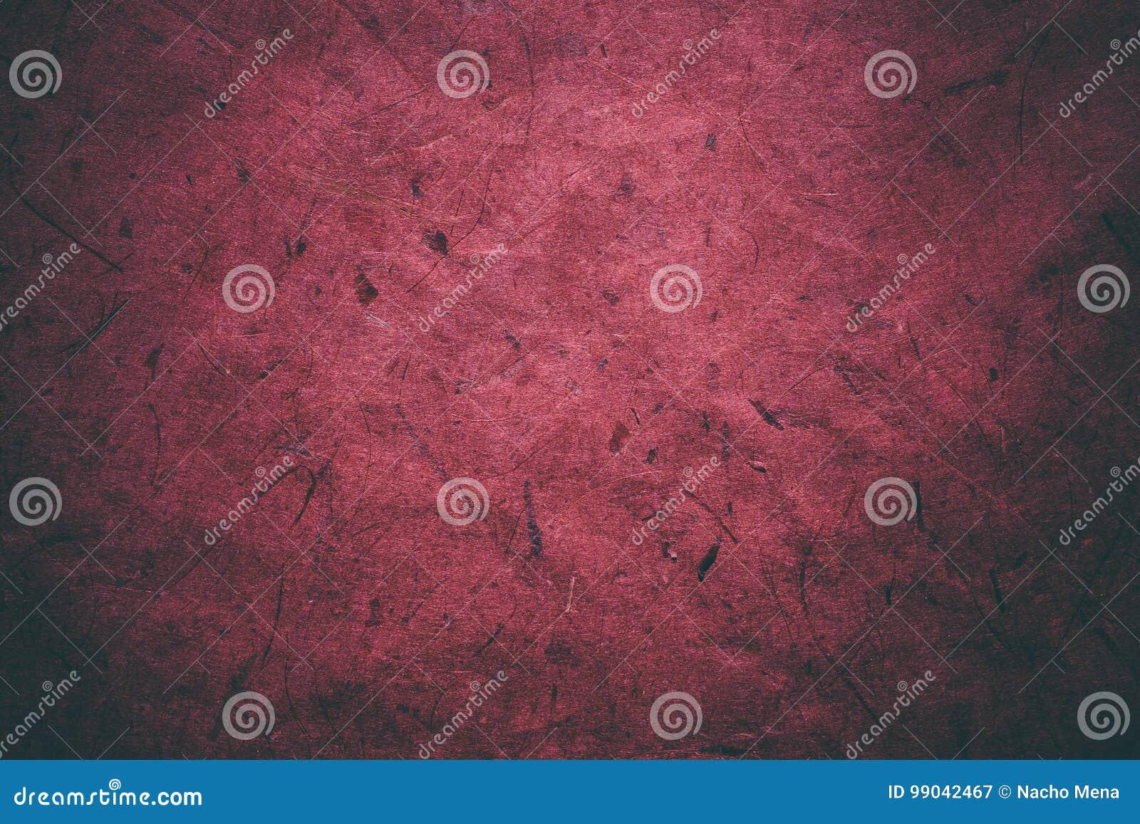 Texture grunge rouge Texture et fond abstraits pour des concepteurs Fond de papier de cru Texture rouge approximative de papier r