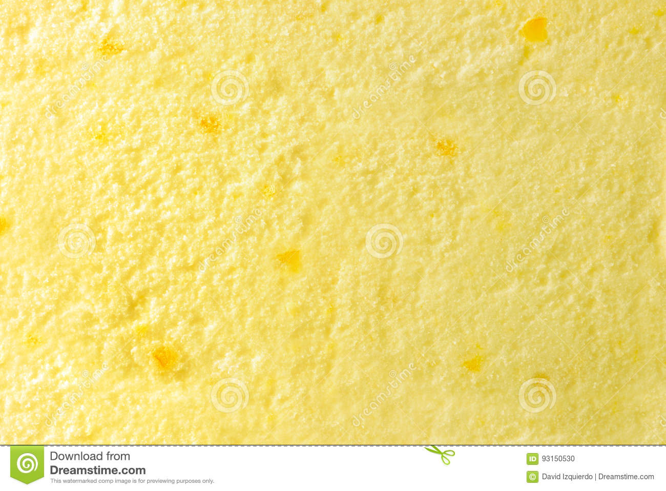 Texture Of Ice Cream Lemon Top Stock Photo - Image of choco