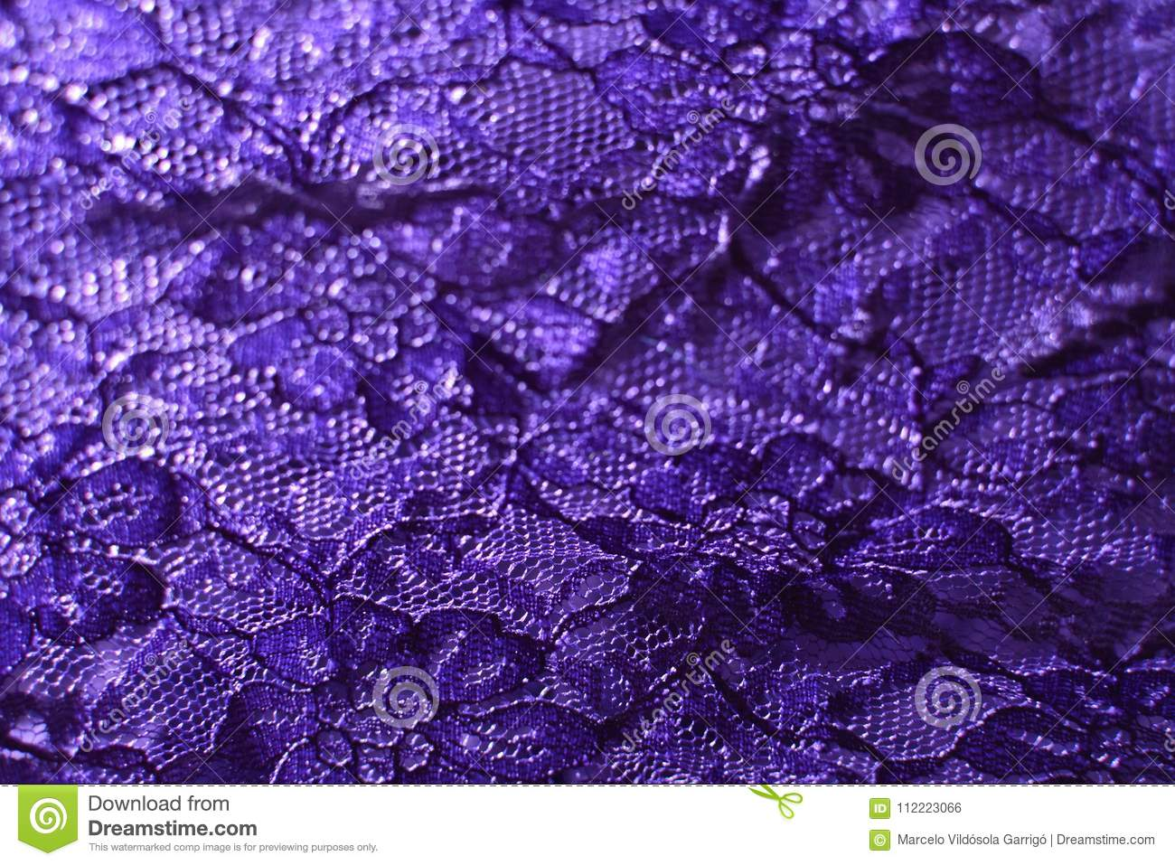 Texture of a lace fabric