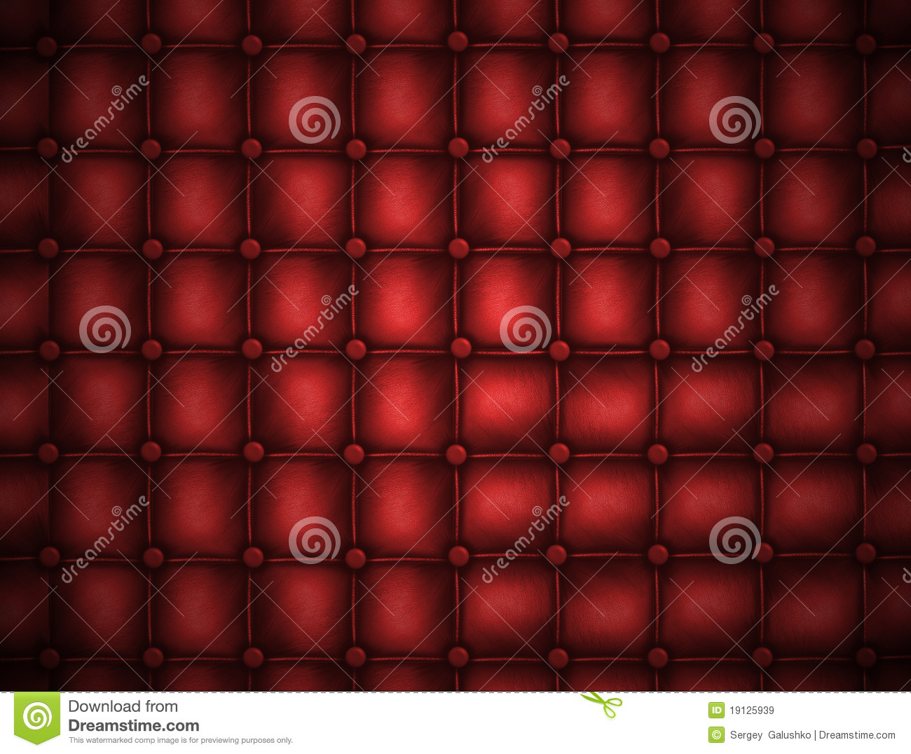 Texture leather quilted a sofa red color royalty free - Dreaming about the color red ...