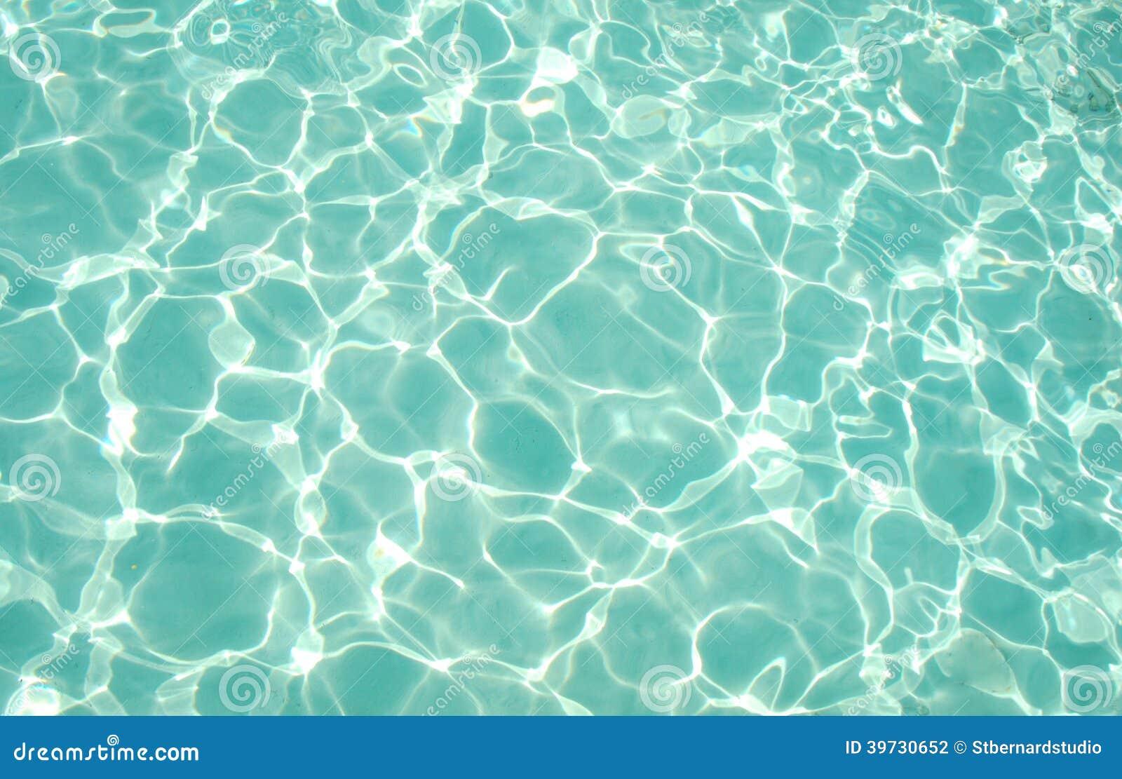 Texture of Light Blue Green Sea Water around Atoll