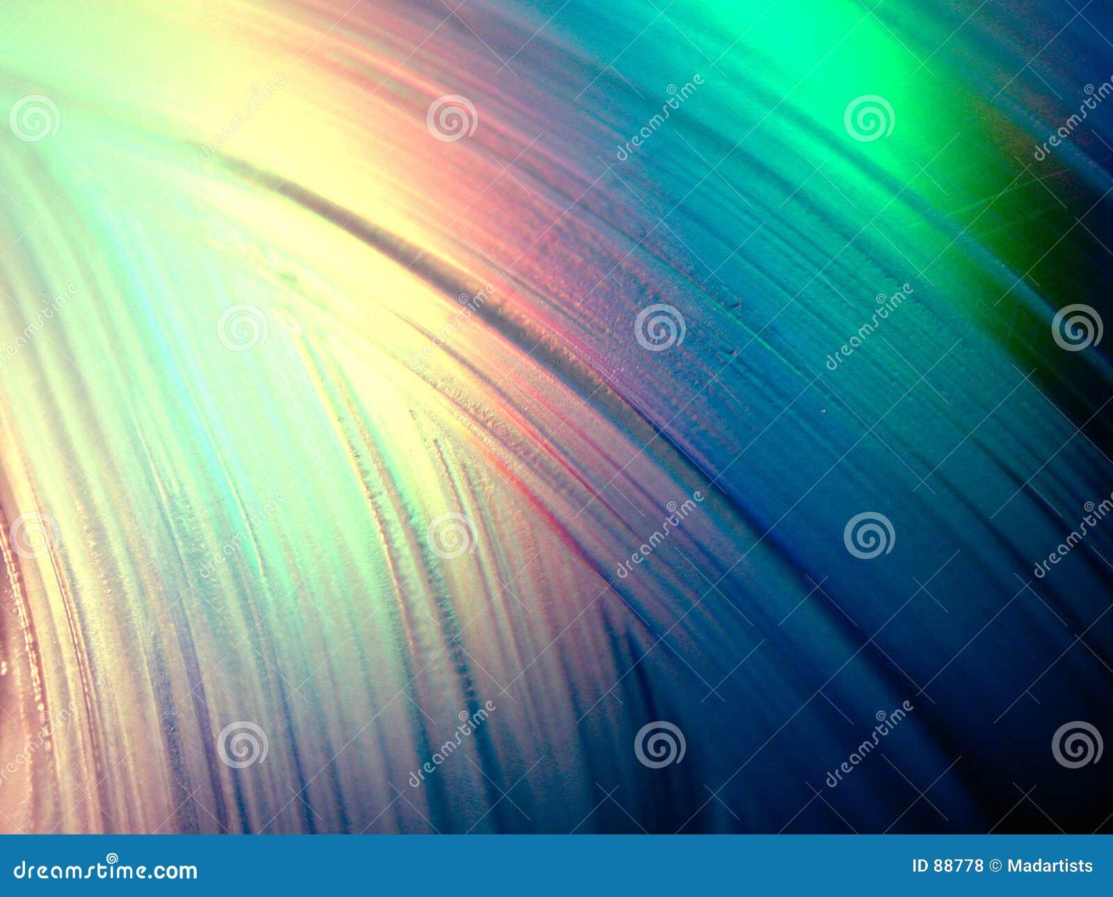 Texture liquide de lueur de bavure