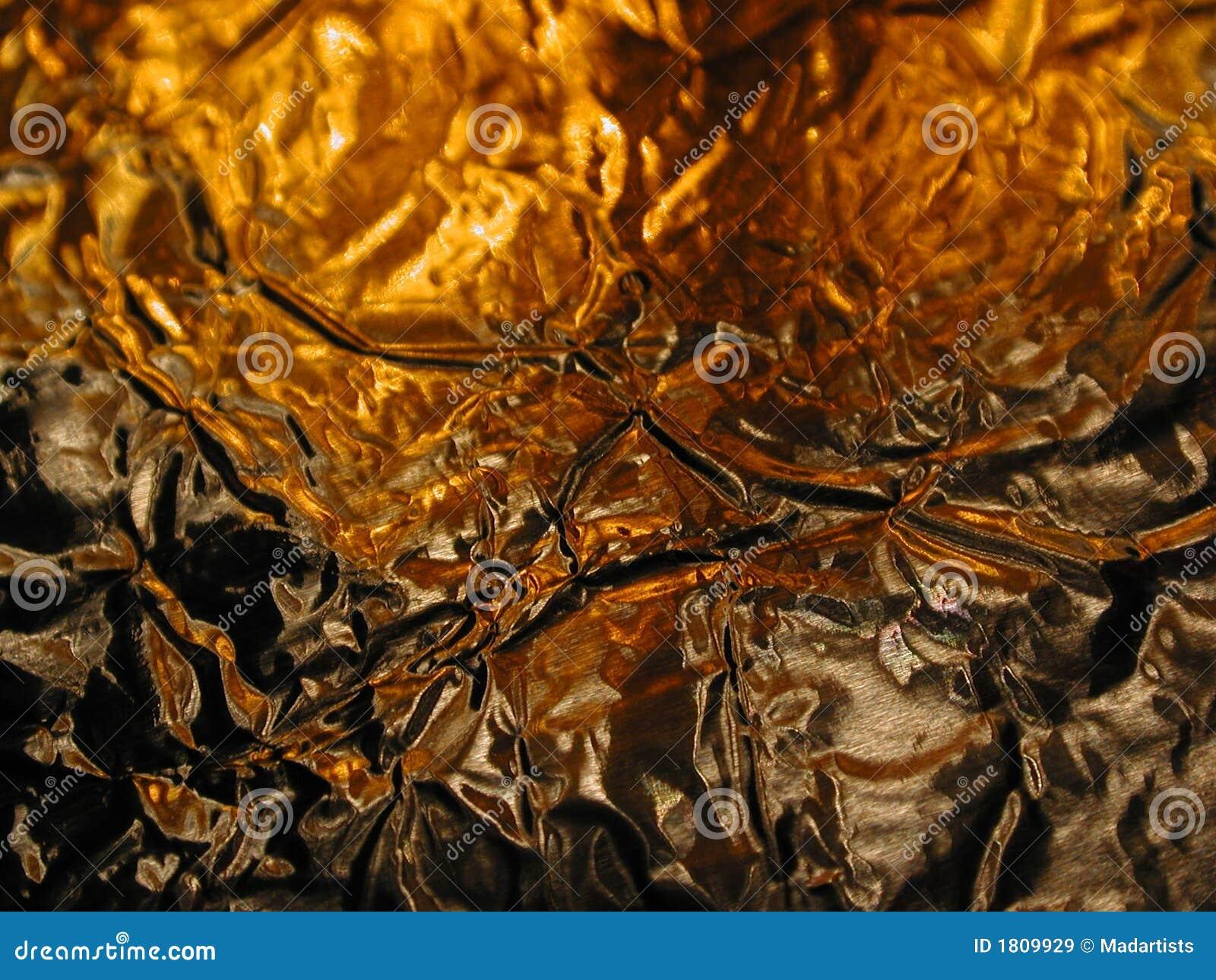 Texture métallique brillante d incendie