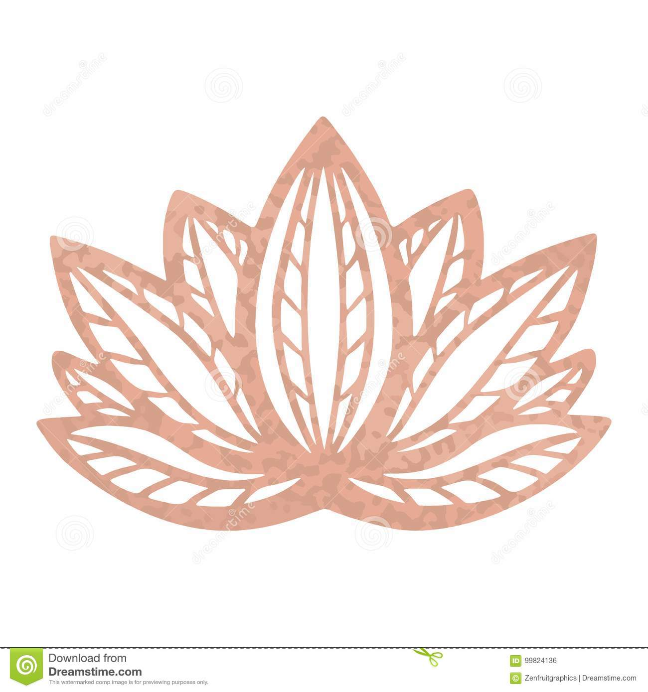 Texture Metallique De Feuille D Or De Rose De Tatouage Conception