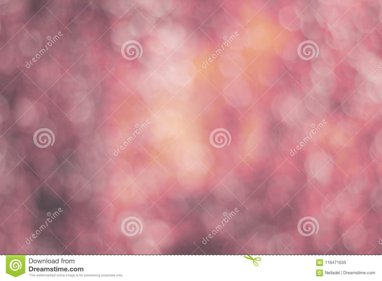 Texture made of defocused pink background with bokeh toned image