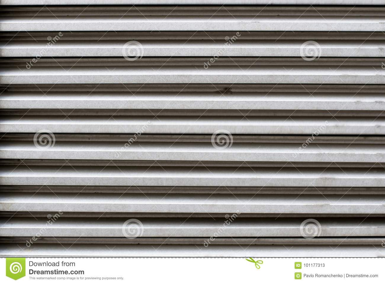 image brown metal the window stock closed blinds shutterstock photo