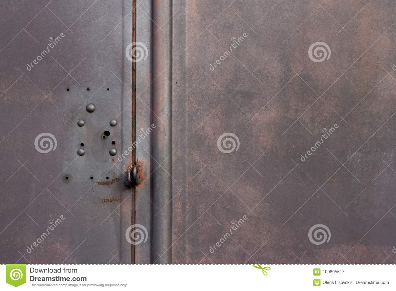 Texture Metallic Garage Door Gate Stock Image Image Of Gate