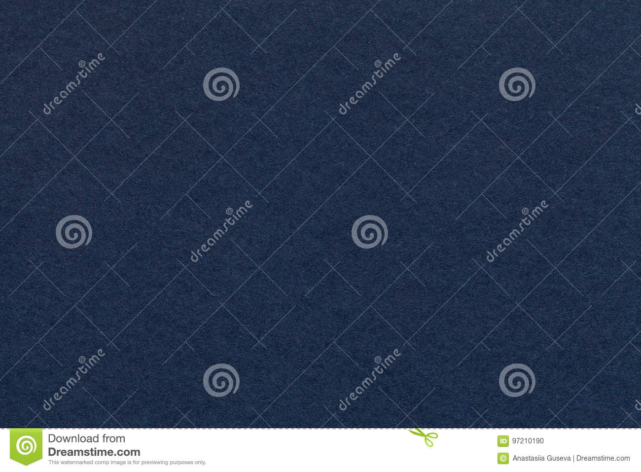 Texture of old navy blue paper closeup. Structure of a dense cardboard. The denim background.