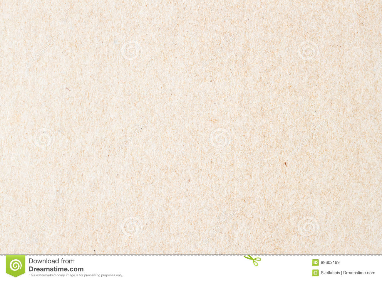 Texture of old organic light cream paper. Recyclable material with small inclusions of cellulose. Background , backdrop