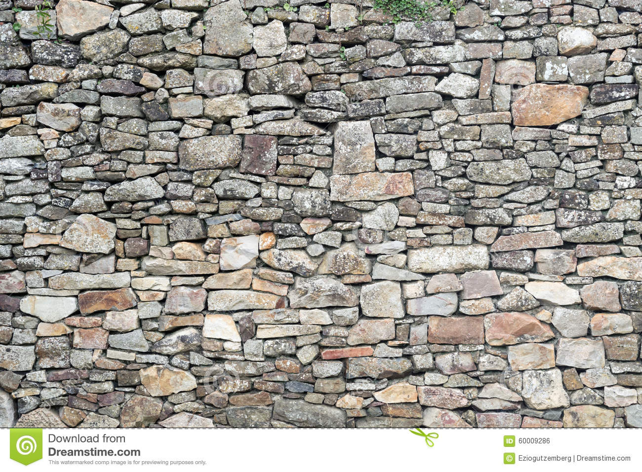 Texture of old weathered medieval stone wall. Texture Of Old Weathered Medieval Stone Wall Stock Photo   Image