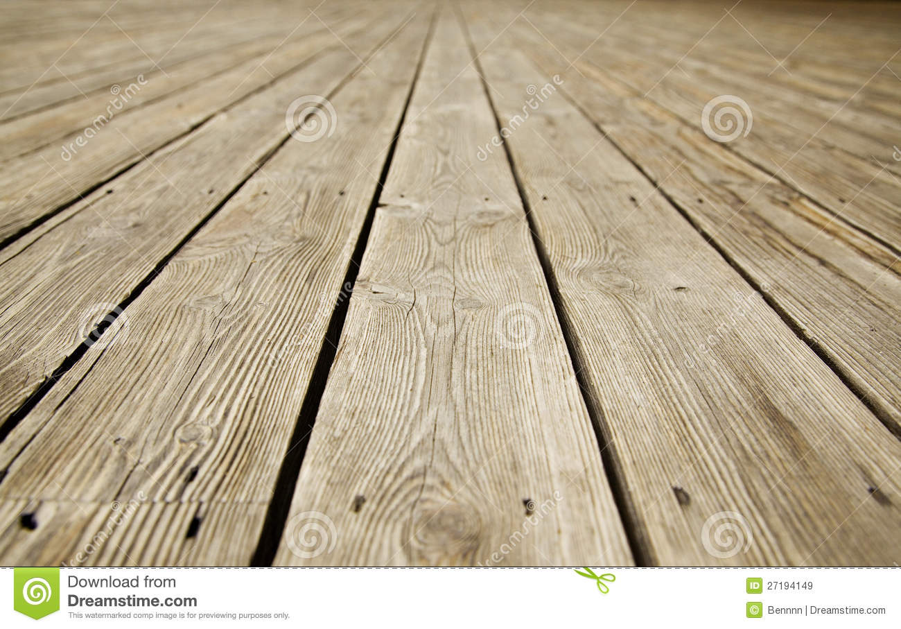 Texture Of Old Wood Floor Royalty Free Stock Images