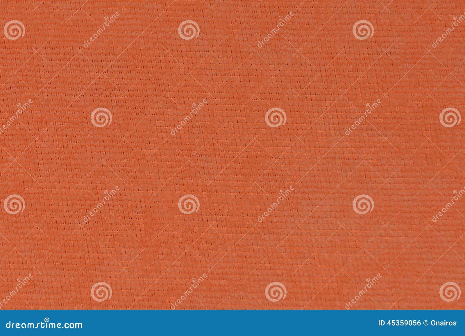 Texture orange de tissu