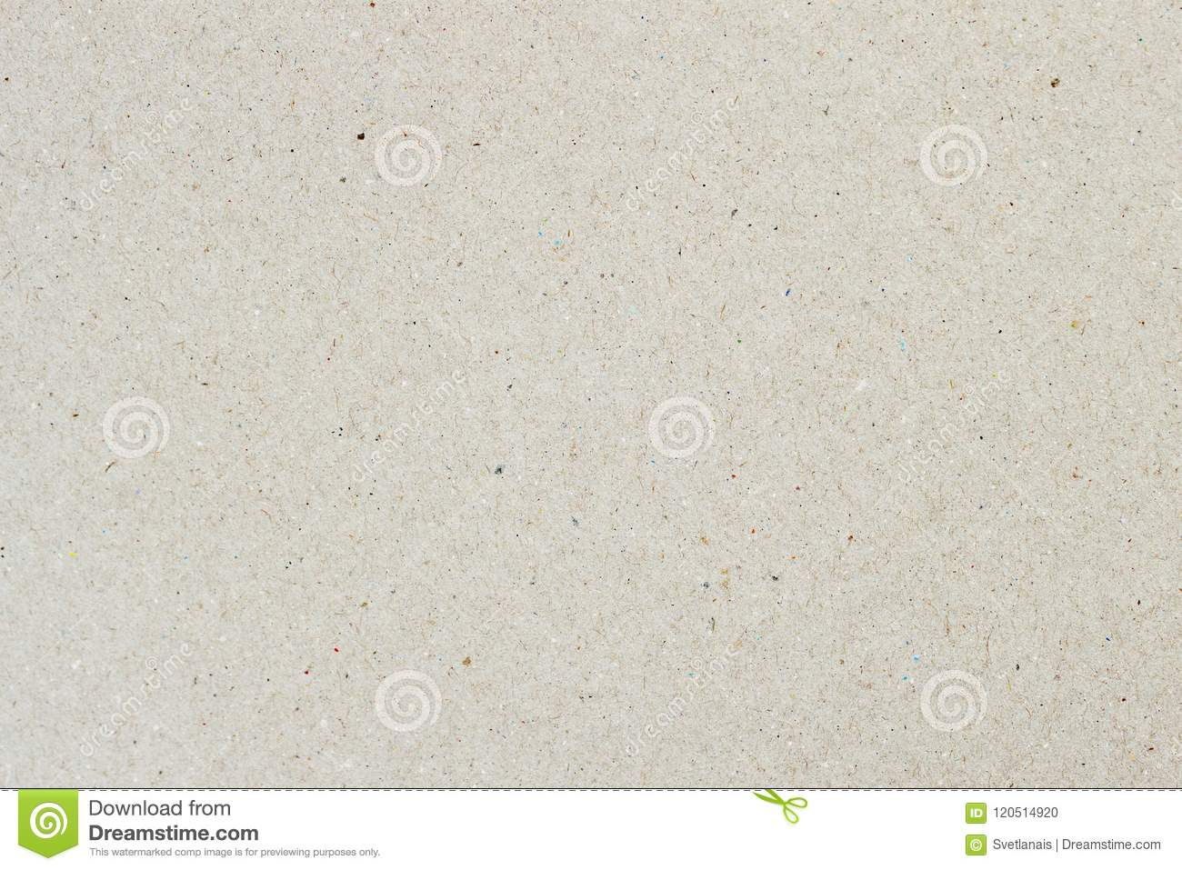 Texture of organic light cream paper, background for design with copy space text or image. Recyclable material, has