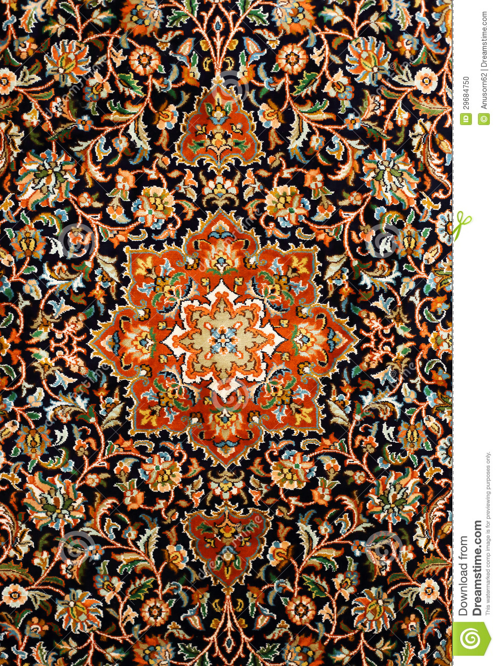 Texture orientale de tapis de perse photo stock image for Architecture perse