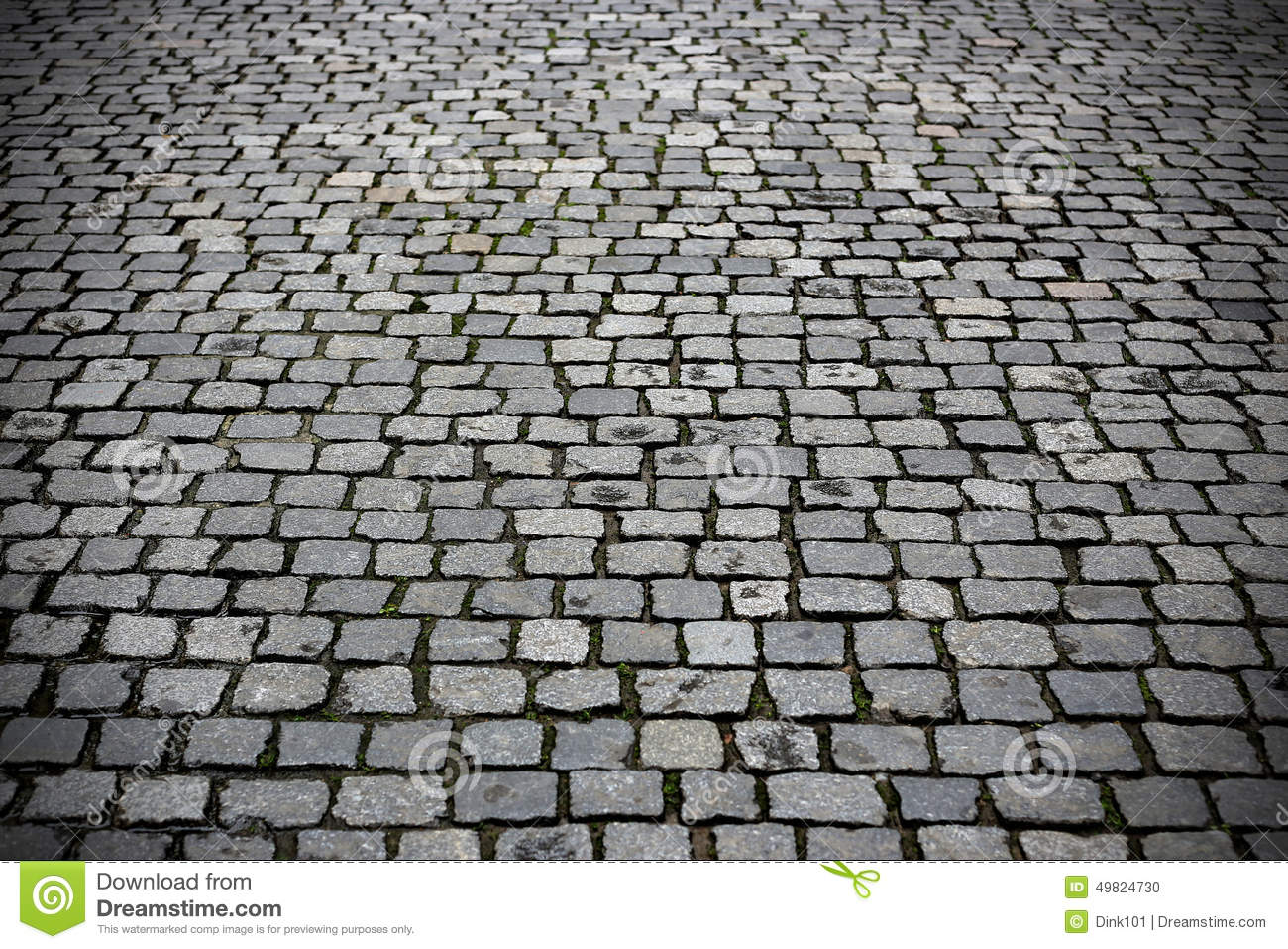 Texture Paved Road Stock Photo Image 49824730
