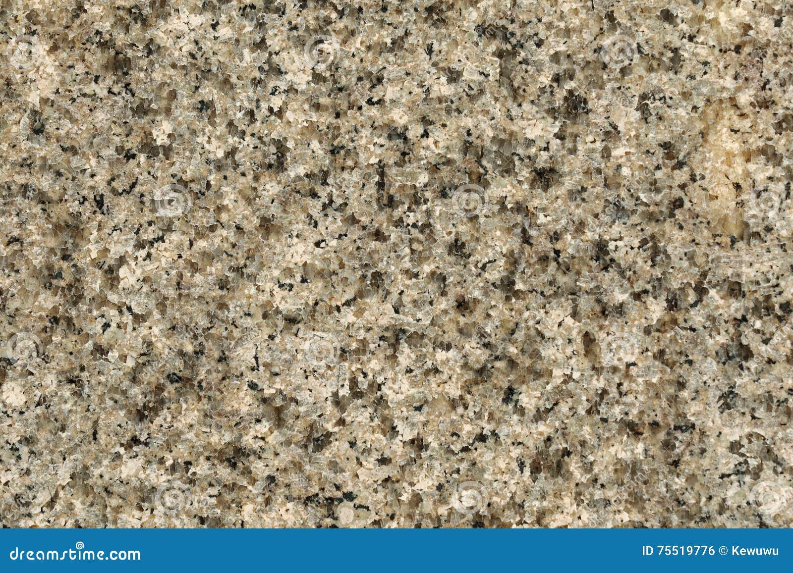 Natural Granite Rock : Texture of polished granite rock in gray black background