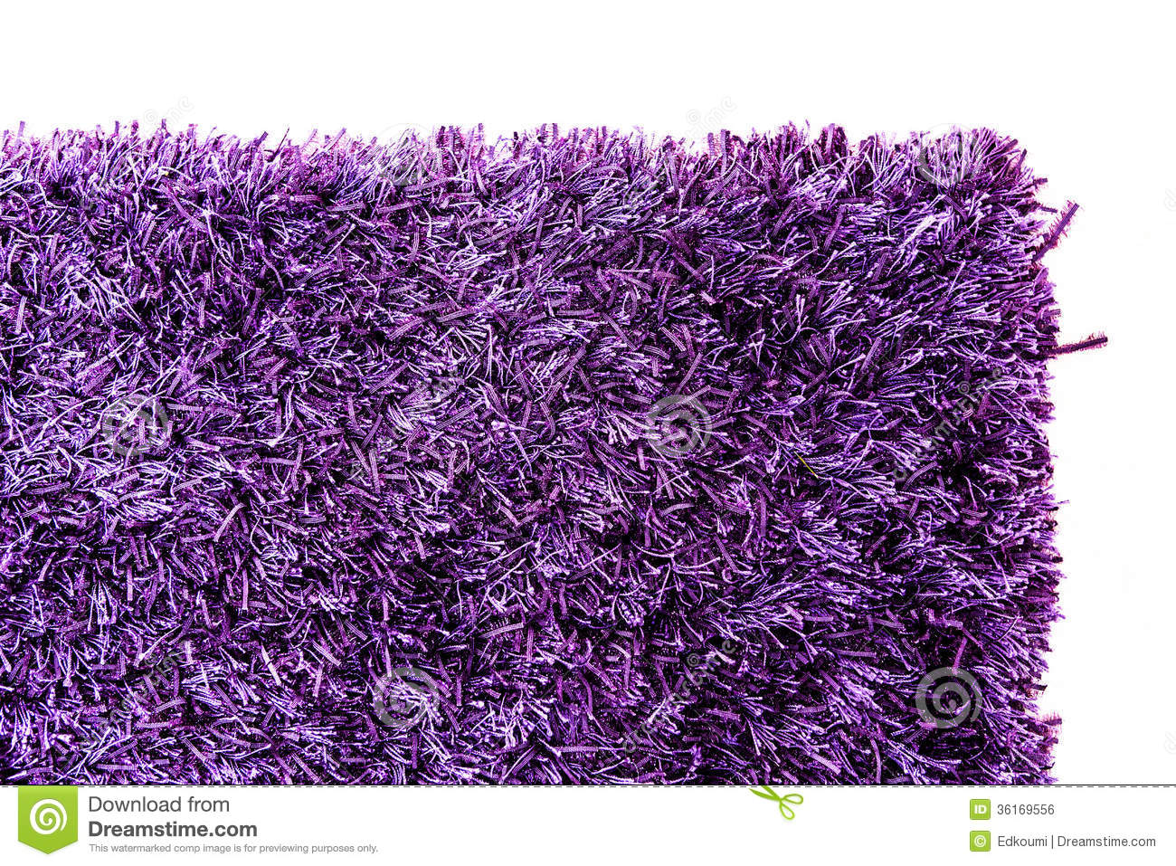 Texture Of A Purple Carpet Corner Royalty Free Stock Image