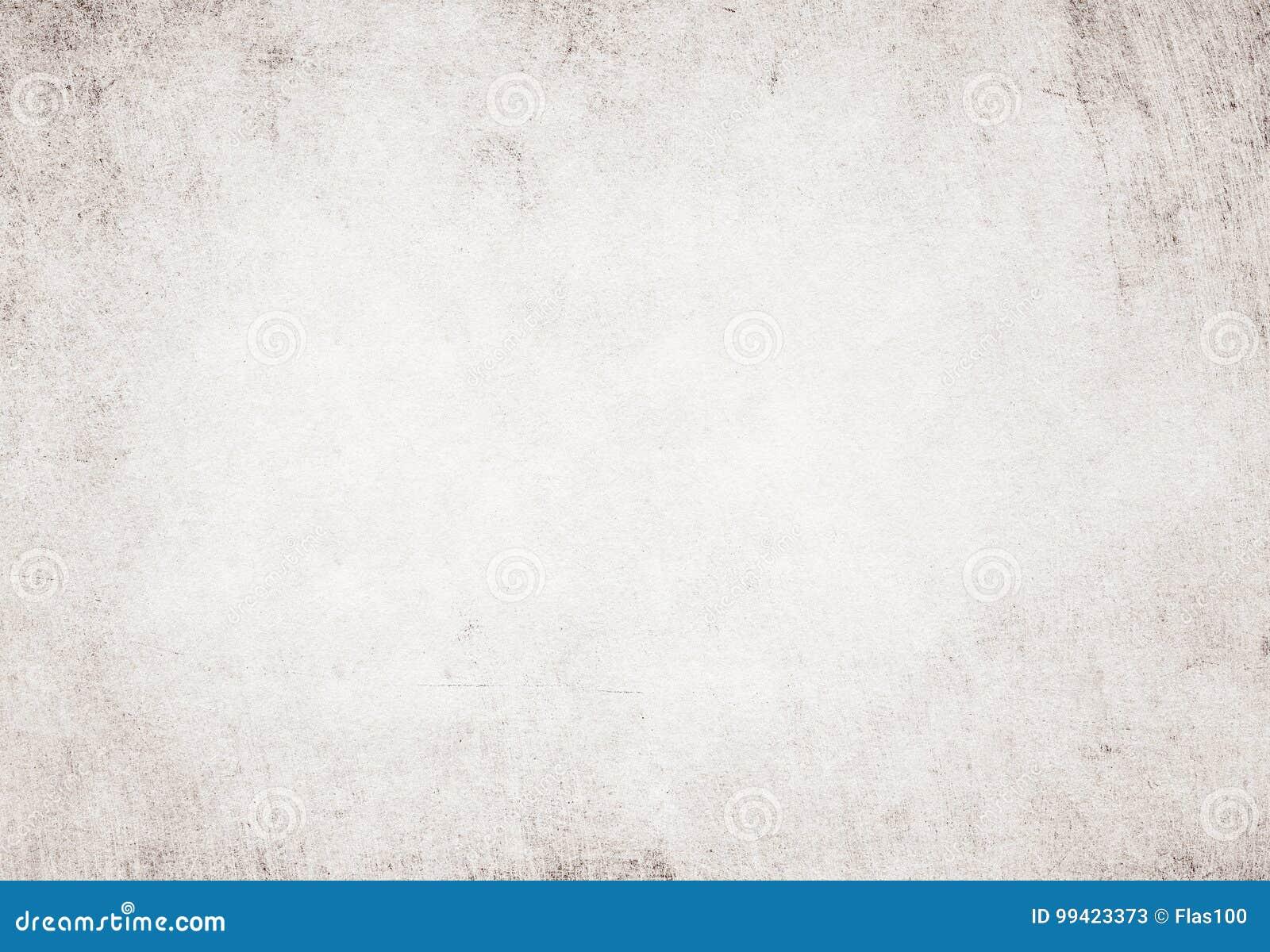 Texture réutilisée par blanc grunge léger de papier parcheminé