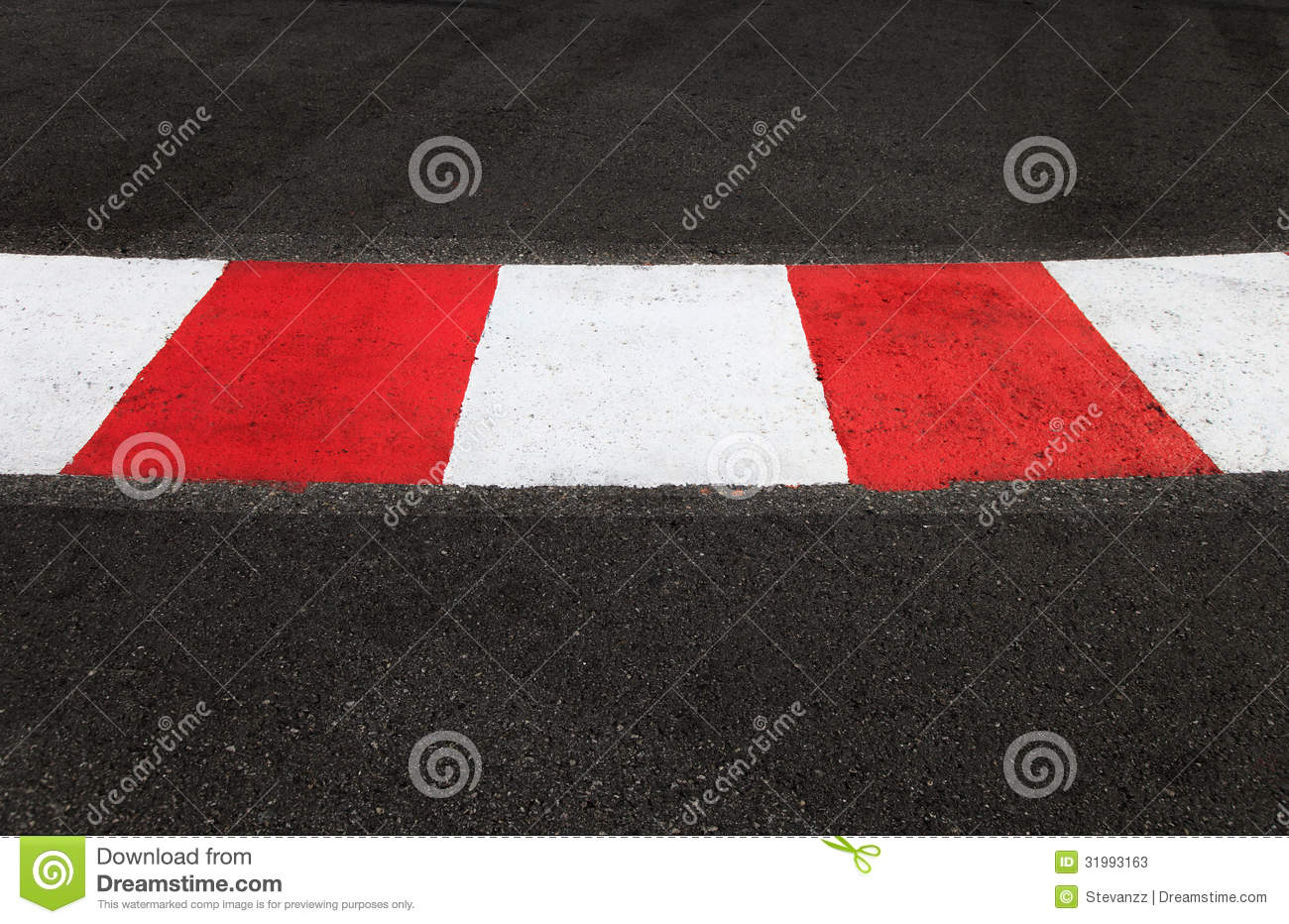 Texture Of Race Asphalt And Curb On Grand Prix Circuit Stock Image - Image of protection, race ...