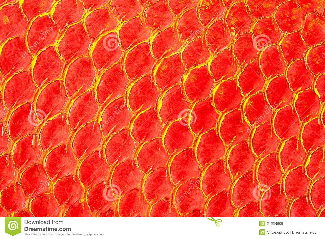 Texture Of Red Fish Skin Royalty Free Stock Images - Image: 21224909