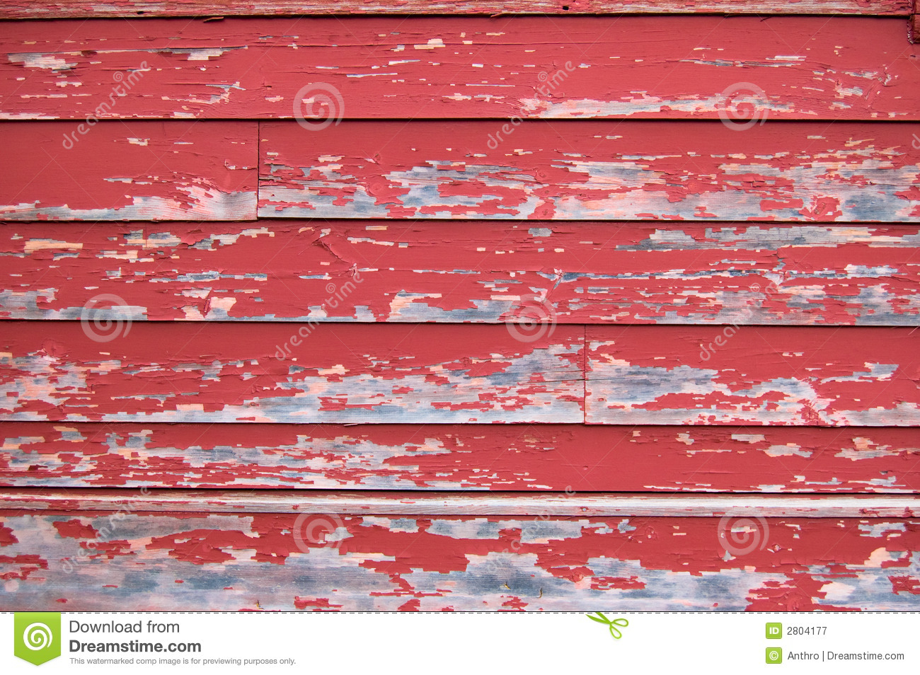 Texture Red Peeling Paint Wall Royalty Free Stock