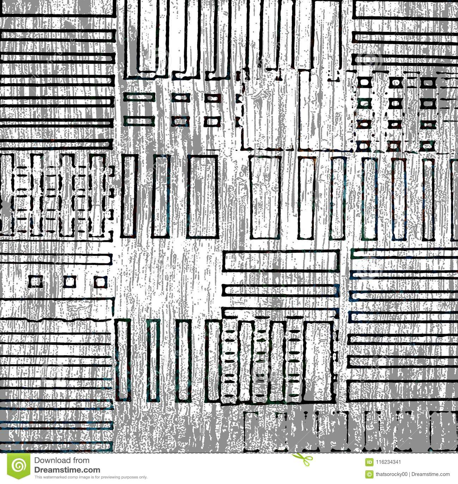 Tie Dye Batik Texture Repeat Modern Pattern Stock