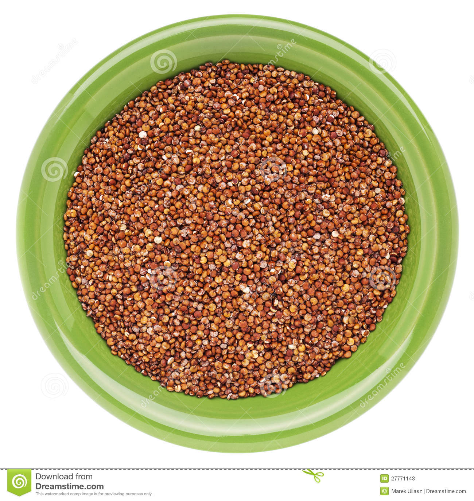 Texture rouge de quinoa