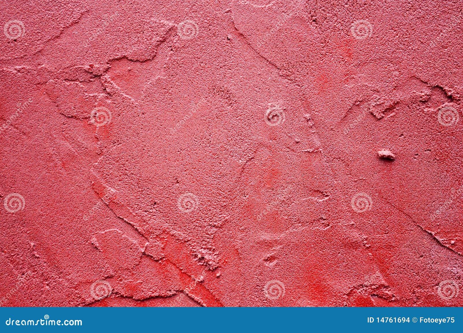 Texture rouge de stuc