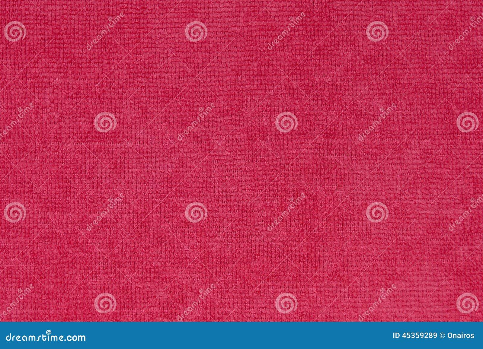 Texture rouge de toile