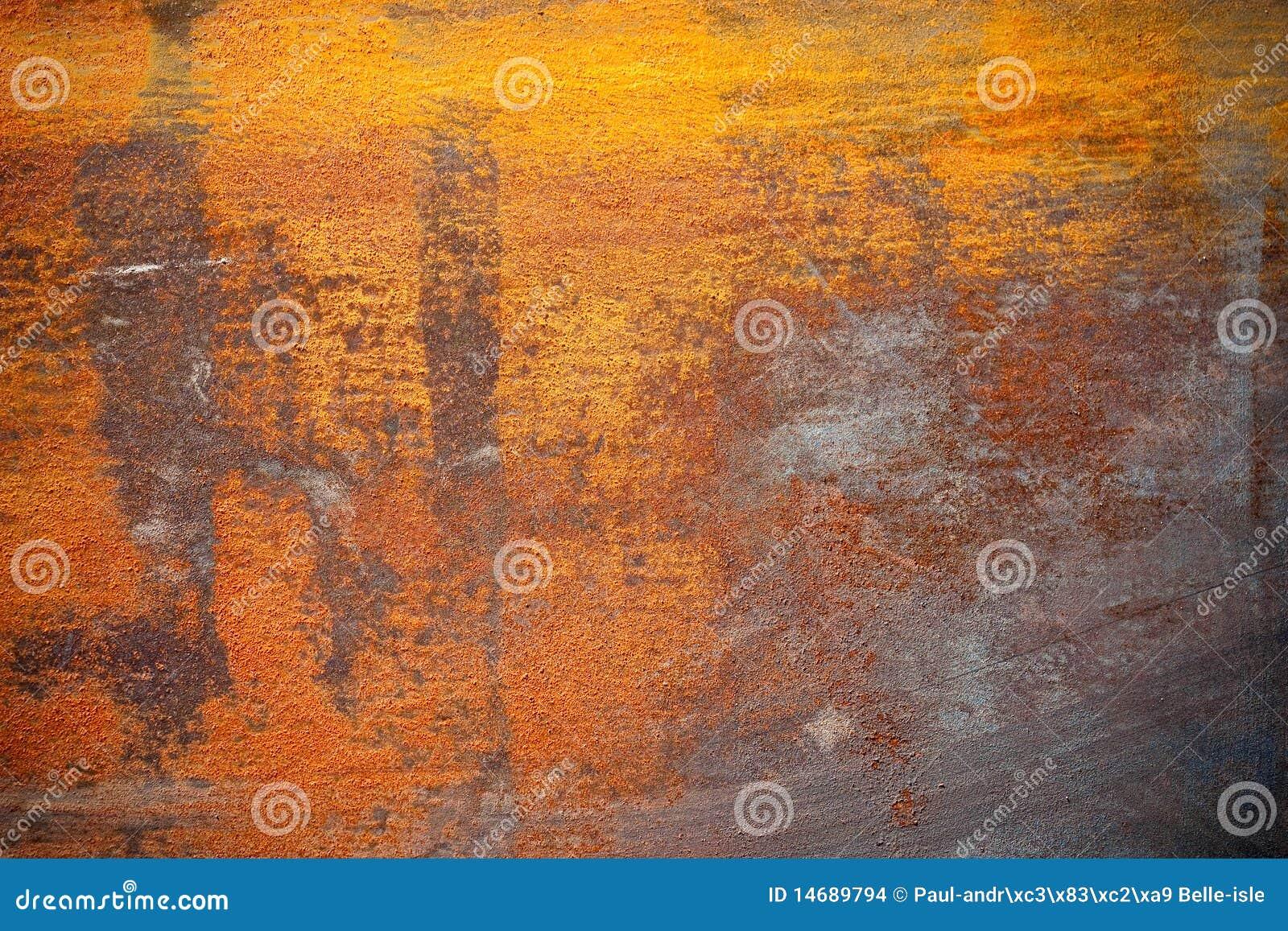 Texture rouillée en métal